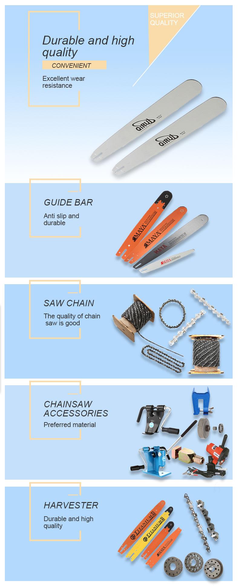 electric chainsaw bar distributors
