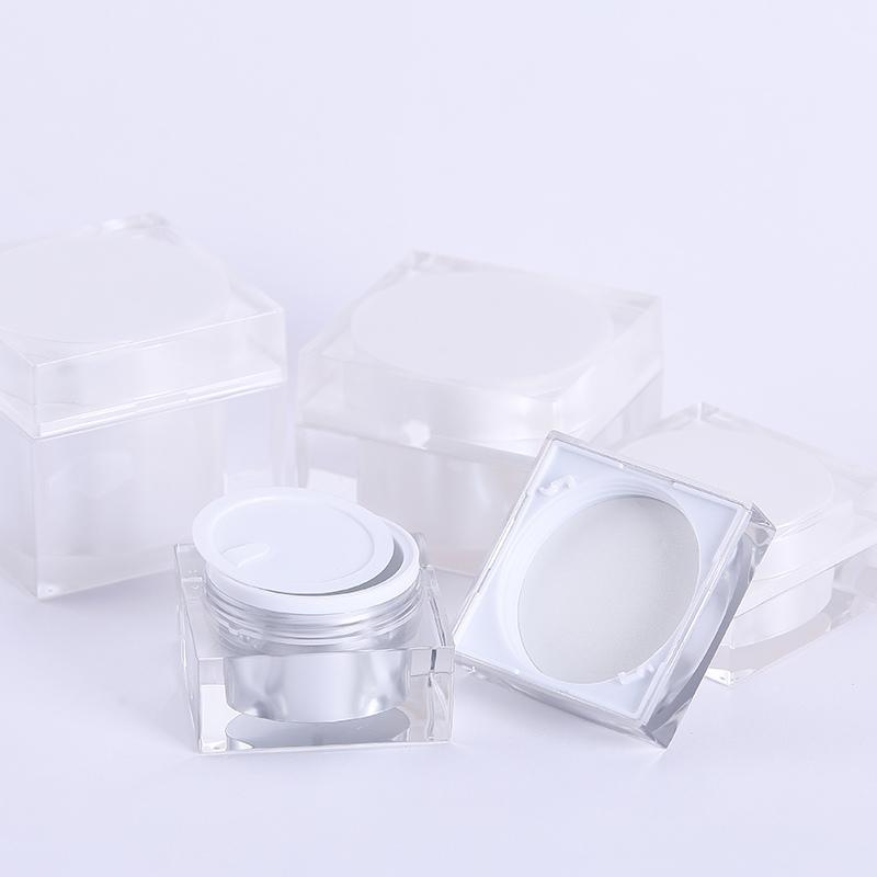white airless bottle