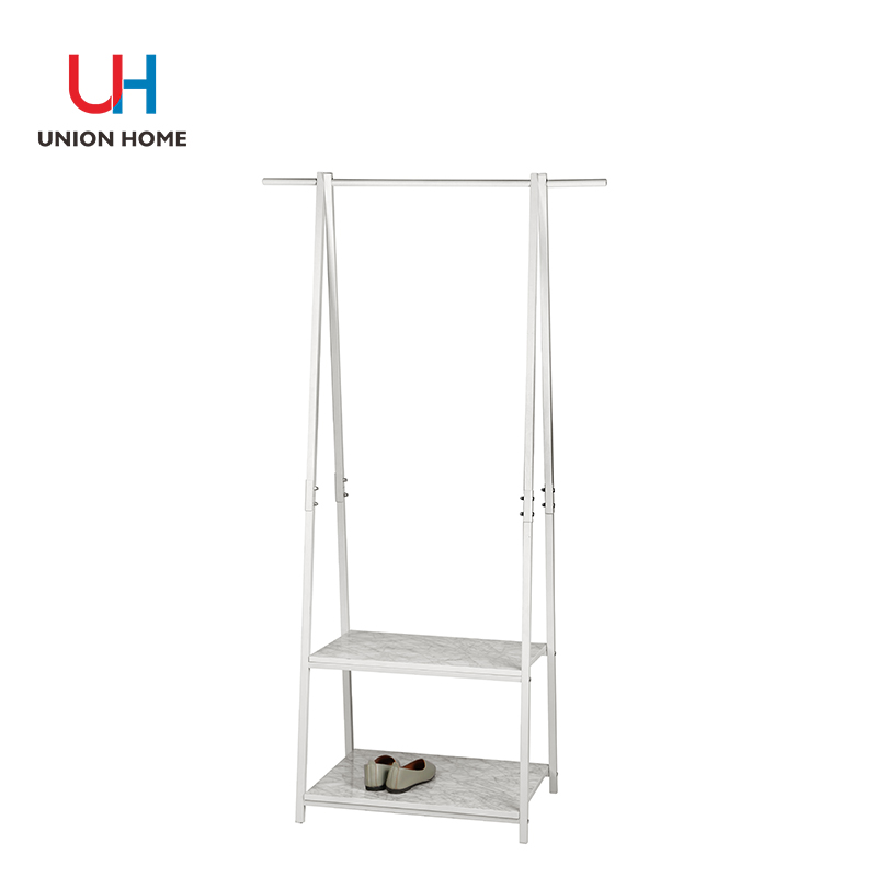 BOARD PRINTED MARBLE CLOTHES HORSE
