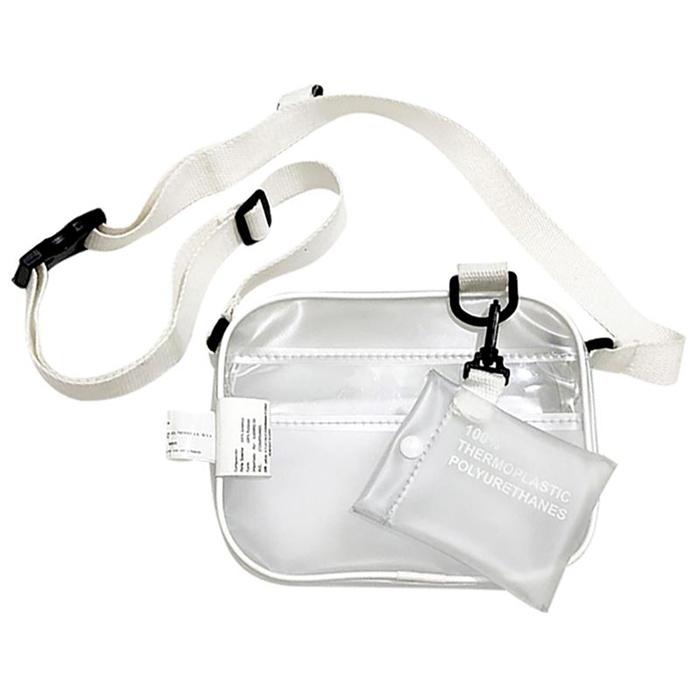 PVC Transparent Clear Shoulder Bags