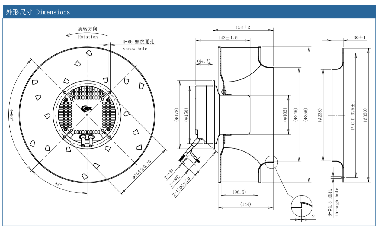 centrifugal fan how it works