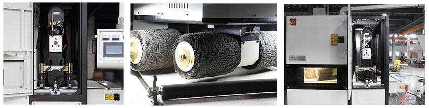 sheet metal deburring machine