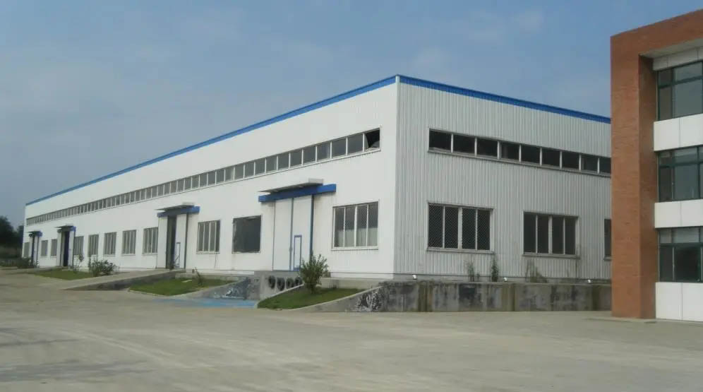 Building steel prefabrication warehouse