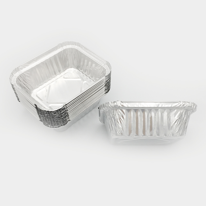 aluminium foil containers with lids