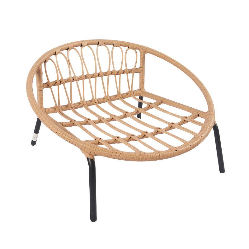 Rattan woven cat sofa pet product