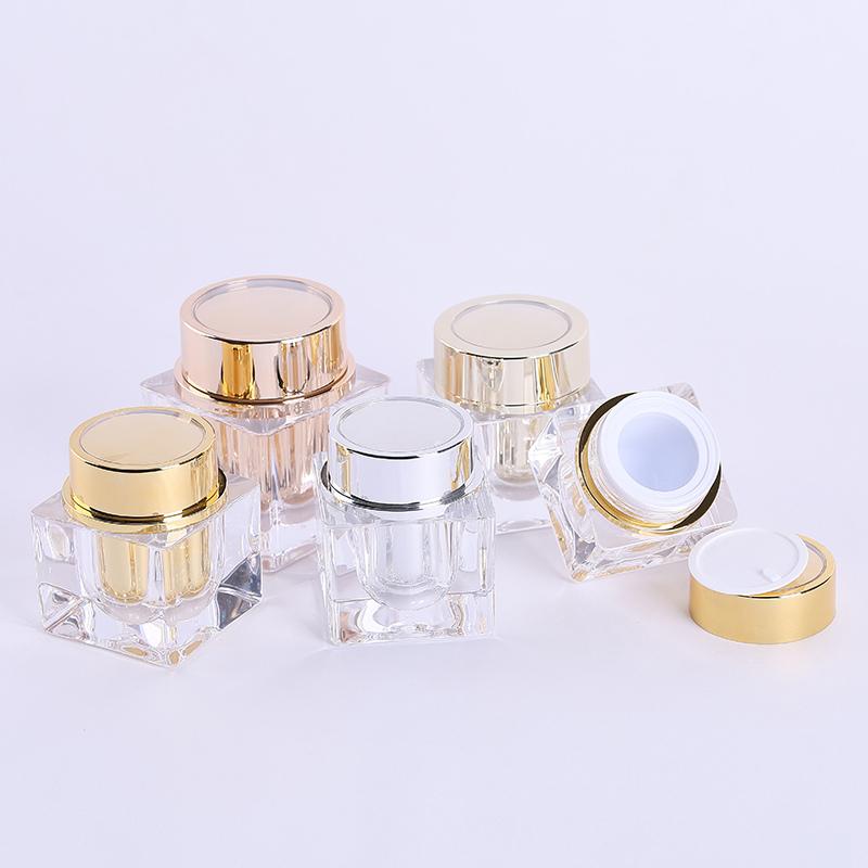 100g acrylic jars with lids
