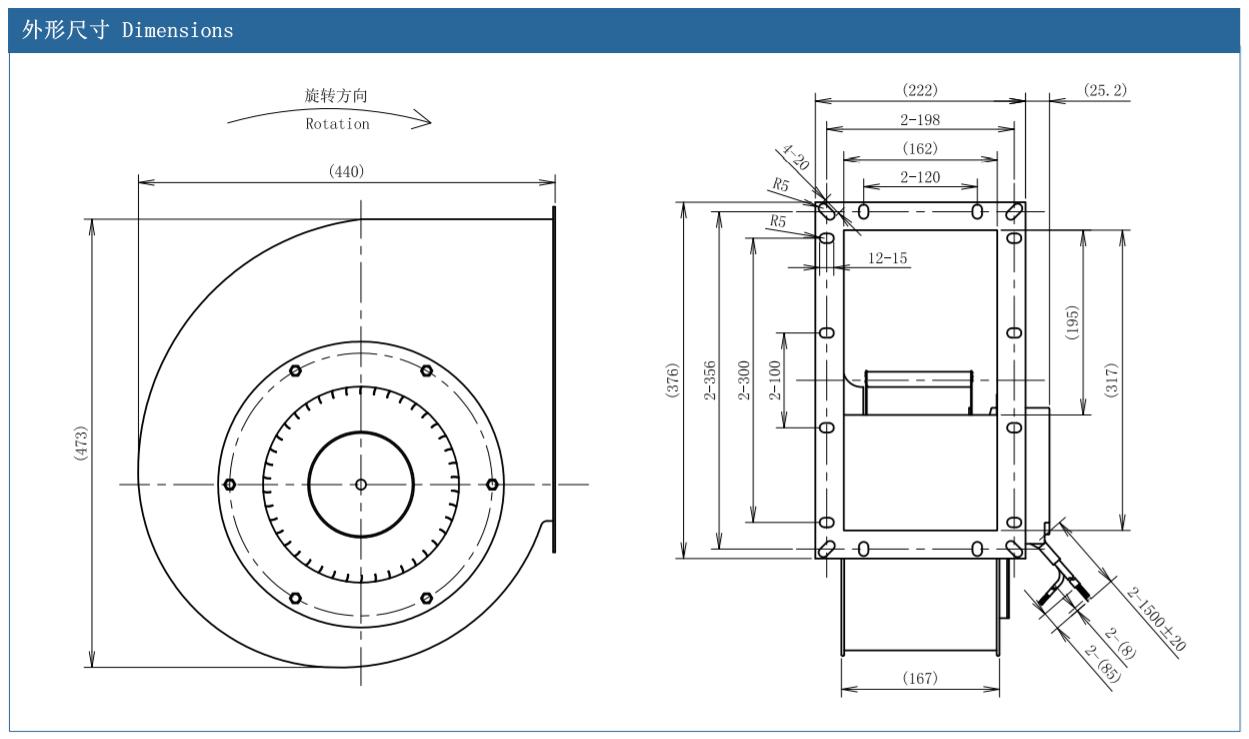 AFL centrifugal fan vs axial fan