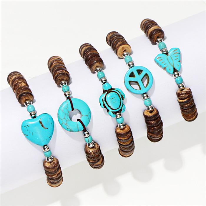 Bohemian Turquoises Bracelets