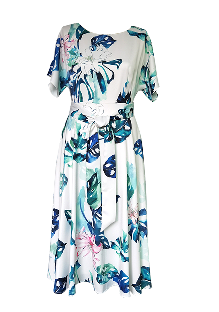 Ariana Print dress