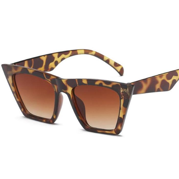 Sexy leopard retro sunglasses