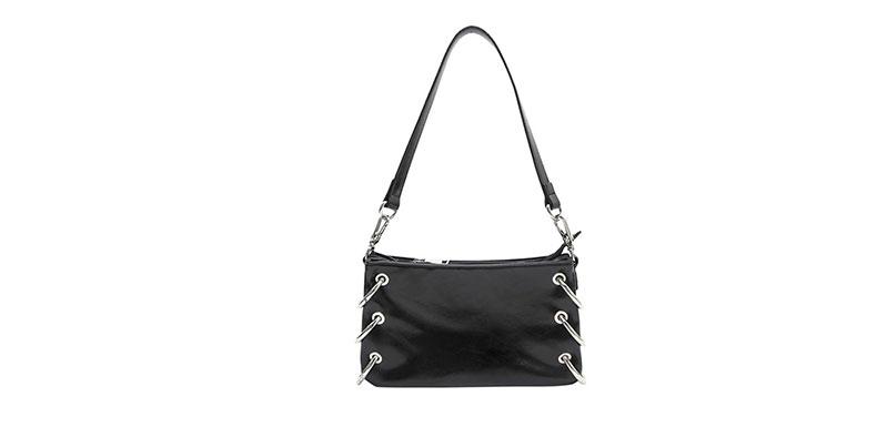 black shoulder bag manufacturer