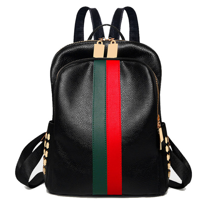PU Leather Backpack for women