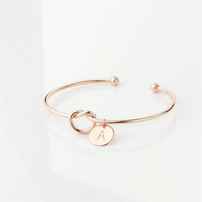 The English alphabet bracelet