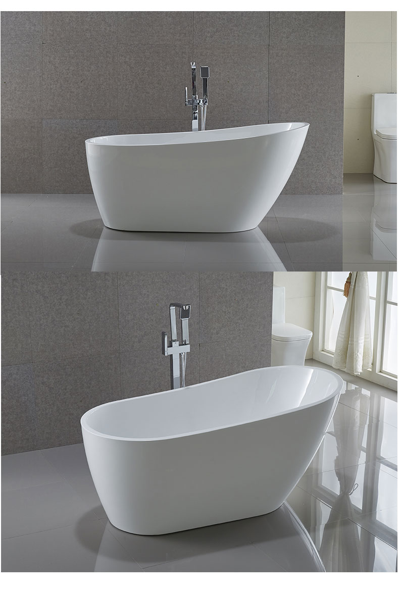 48 inch freestanding bathtub