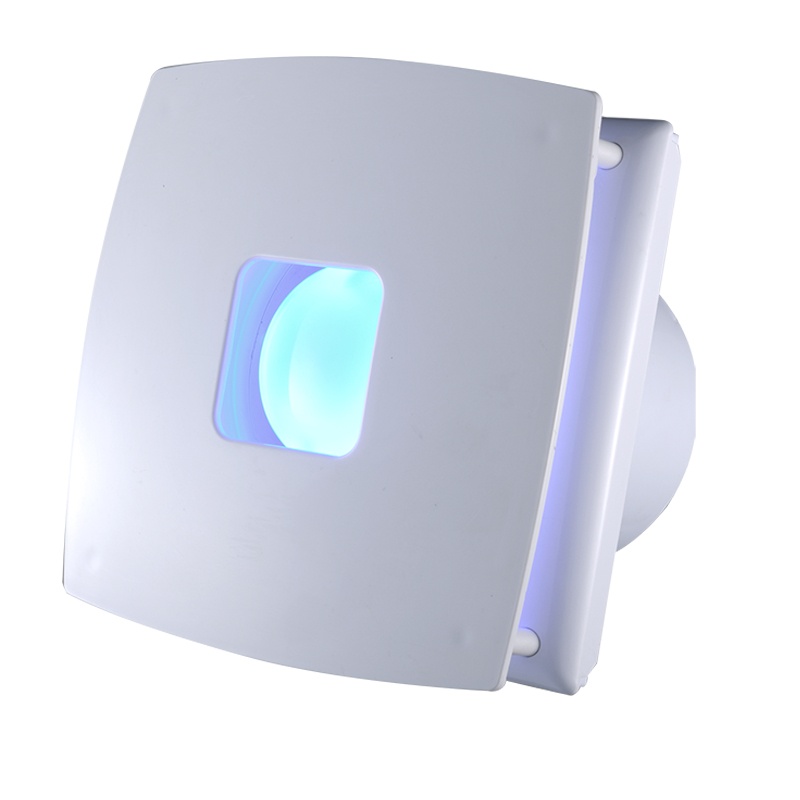 4 6 8 Inch Plastic Low Noise Ceiling Wall Mounted Exhaust Fan