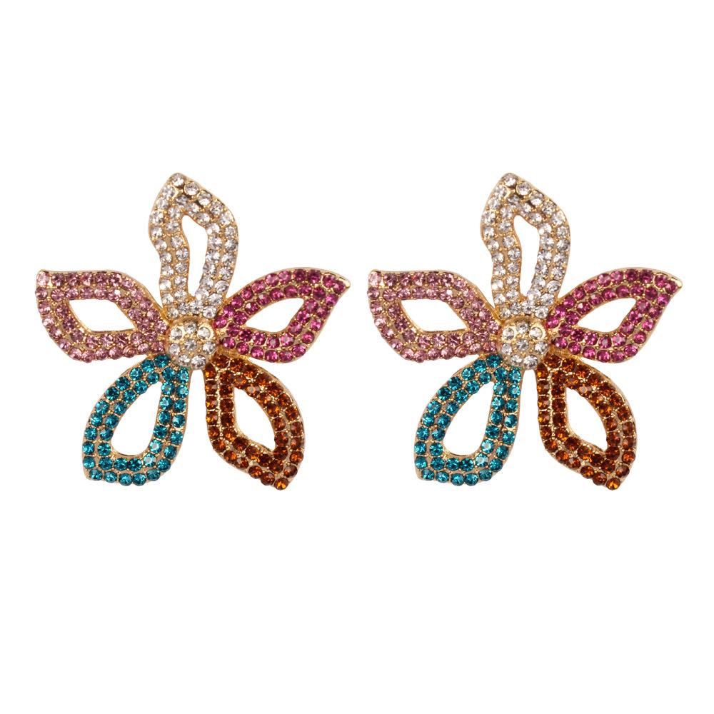 Flower Earrings Stud 2