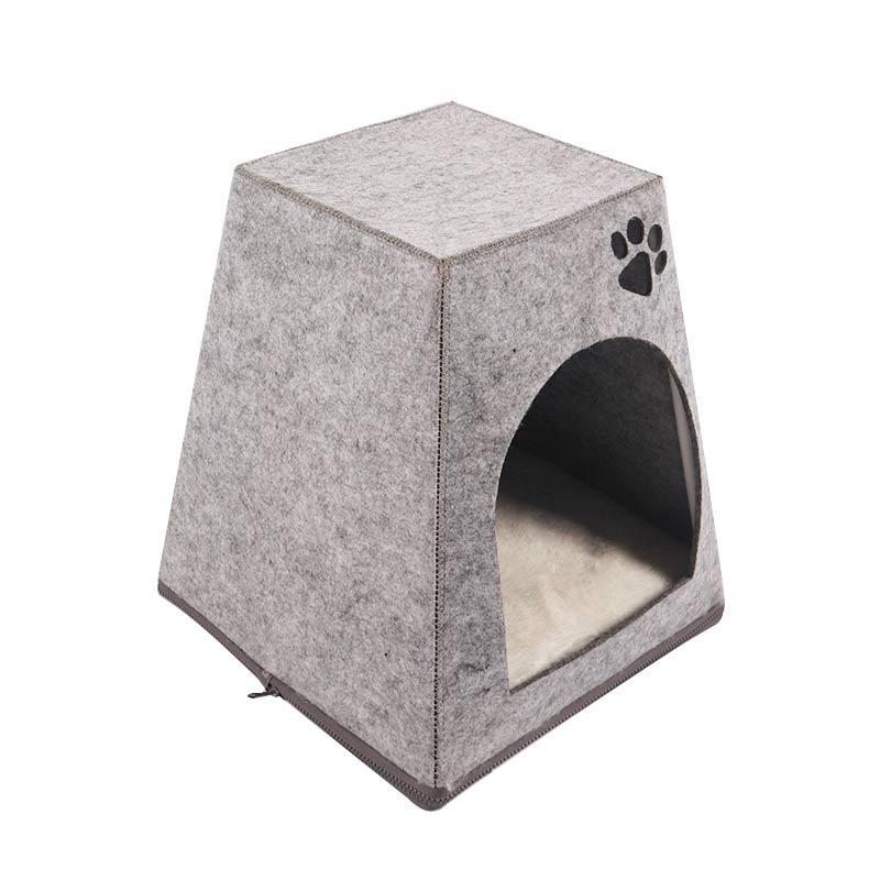Castle felt cat litter pet product