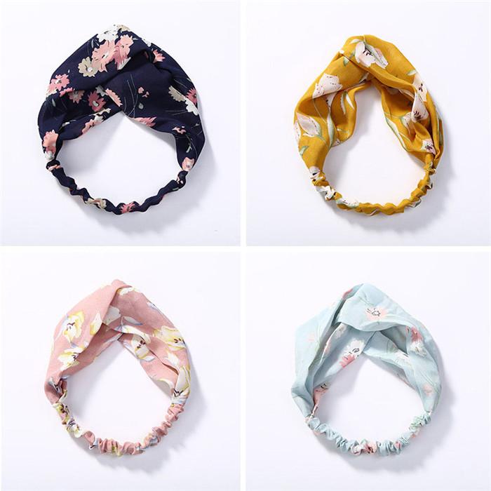 Cross Knot Elastic Hair Bands