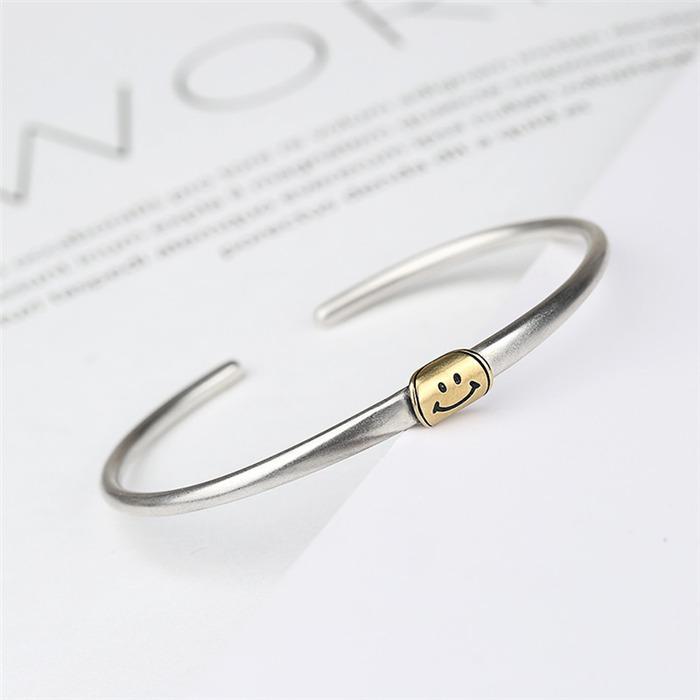 Smiling female bracelet