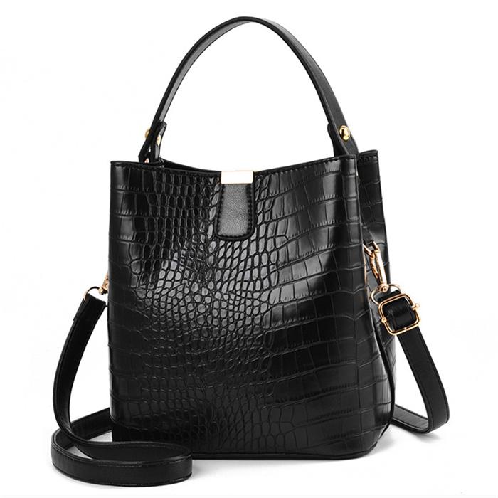 Retro Alligator Bucket Bags
