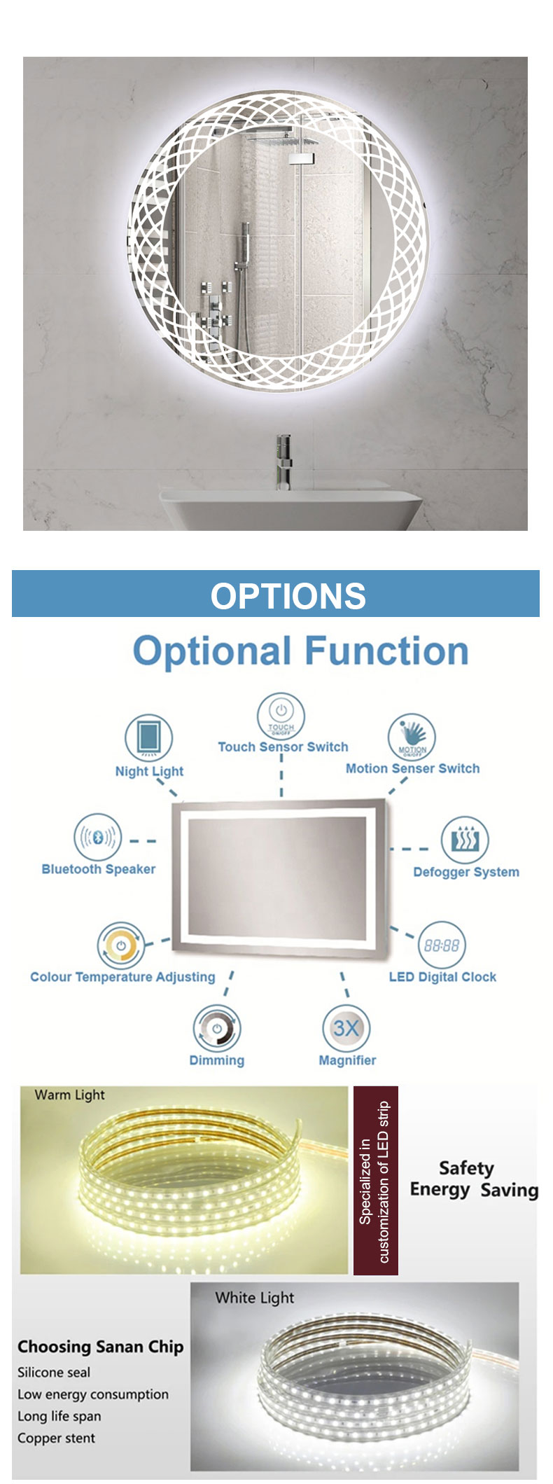bathroom mirror cabinet suppliers