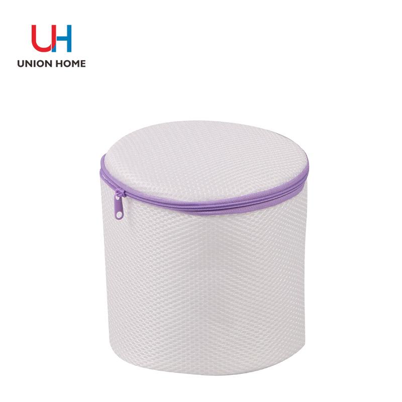 Plastic ring mesh lingeire washing bag