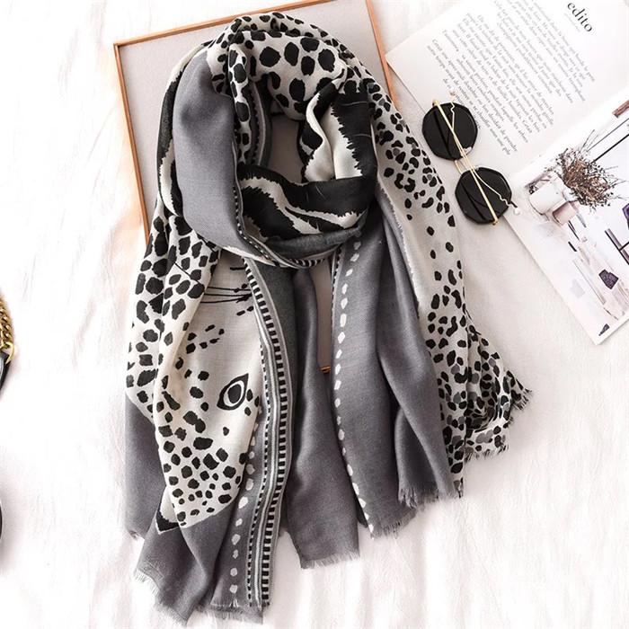 cotton silk lady fashion scarves
