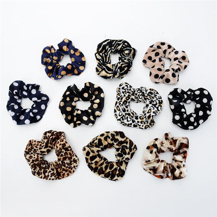 Leopard print hair band