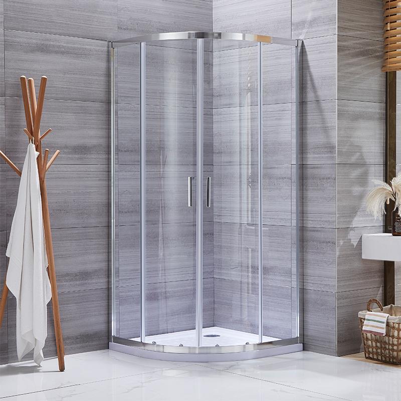 black frame shower enclosure manufacturers