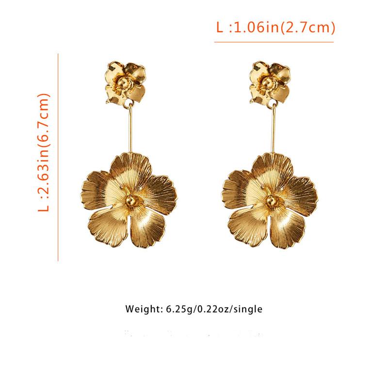Flowers Dangle Earrings2