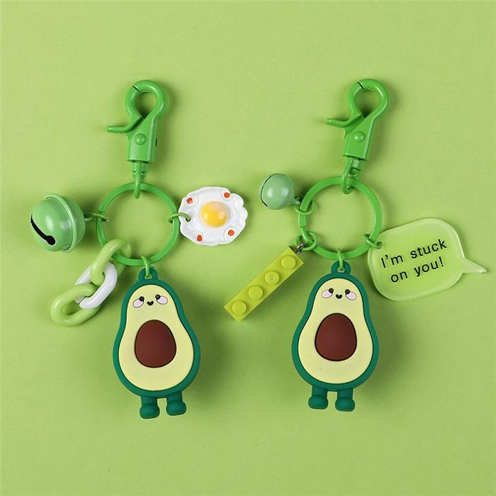 Avocado key chain