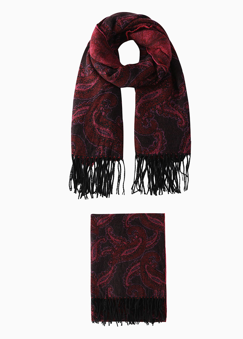 big knit scarf pattern