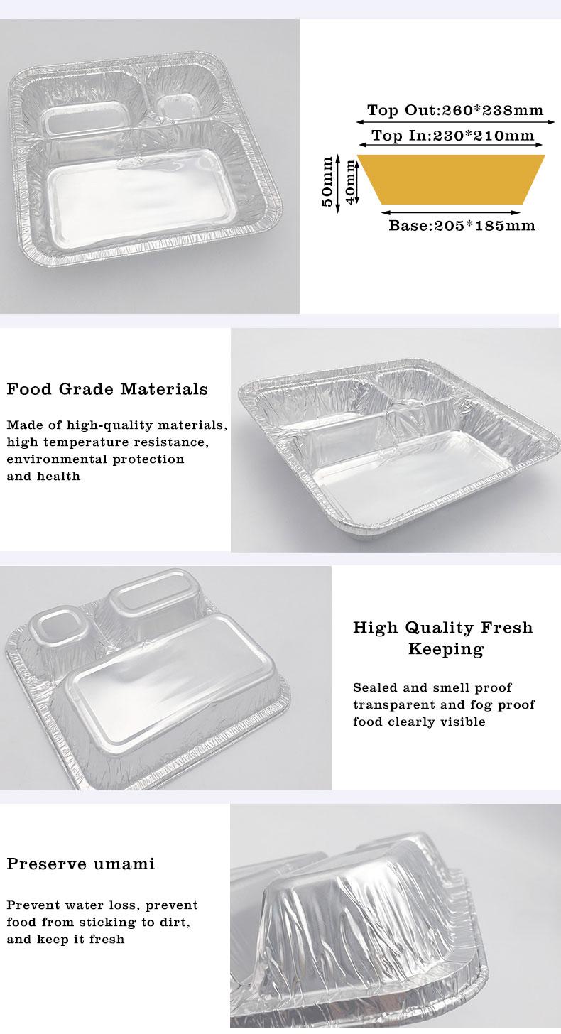 Devided aluminium containers,Devided aluminium containers supplier