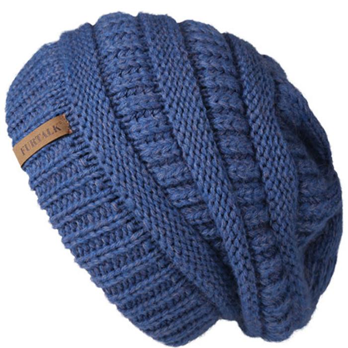Warm Fleece Lining Hat for Female