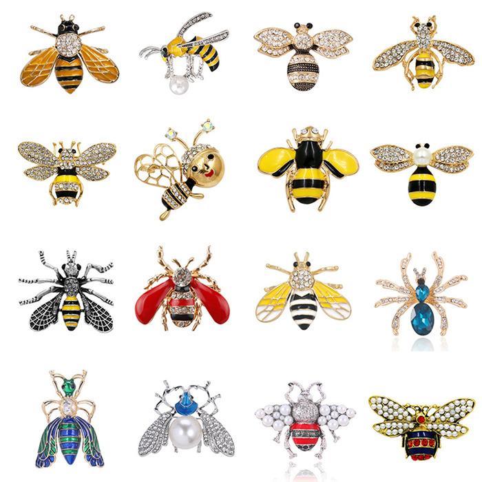 Bee Animals Brooch