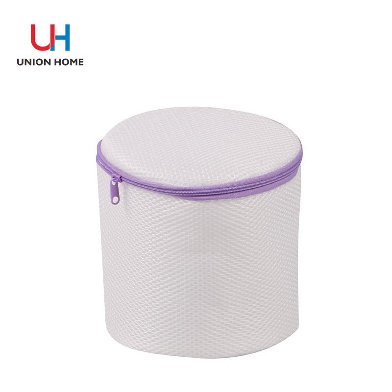 Plastic ring plastic zipper header lingeire washing bag