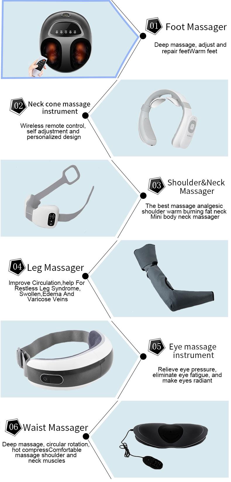China foot massager manufacturer