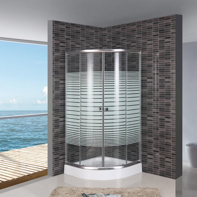 corner shower enclosure kits