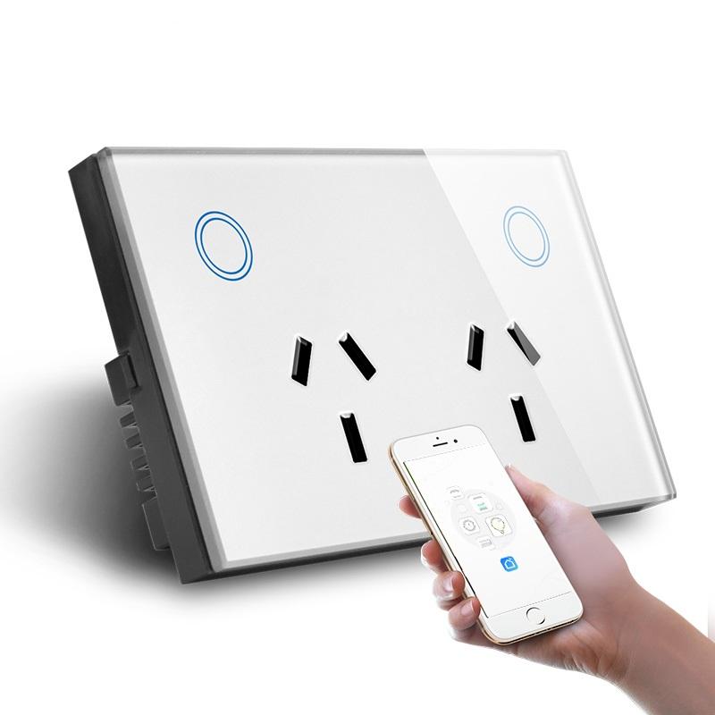 SAA Zigbee Tuya Smart Module  Wireless Hand Touch Switch Socket With USB