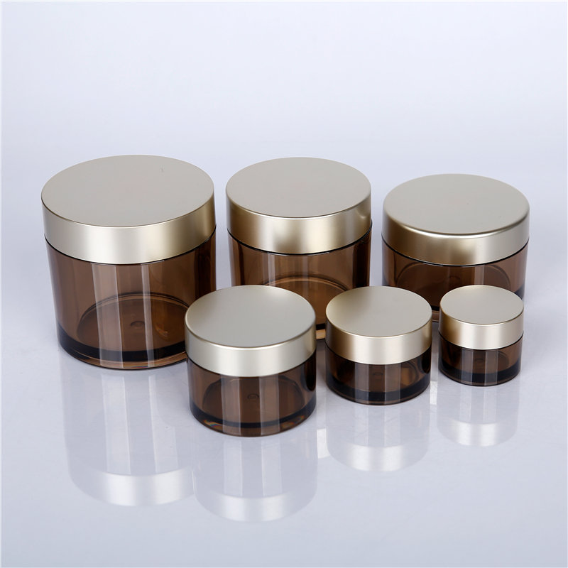 frosted glass cosmetic jars wholesale