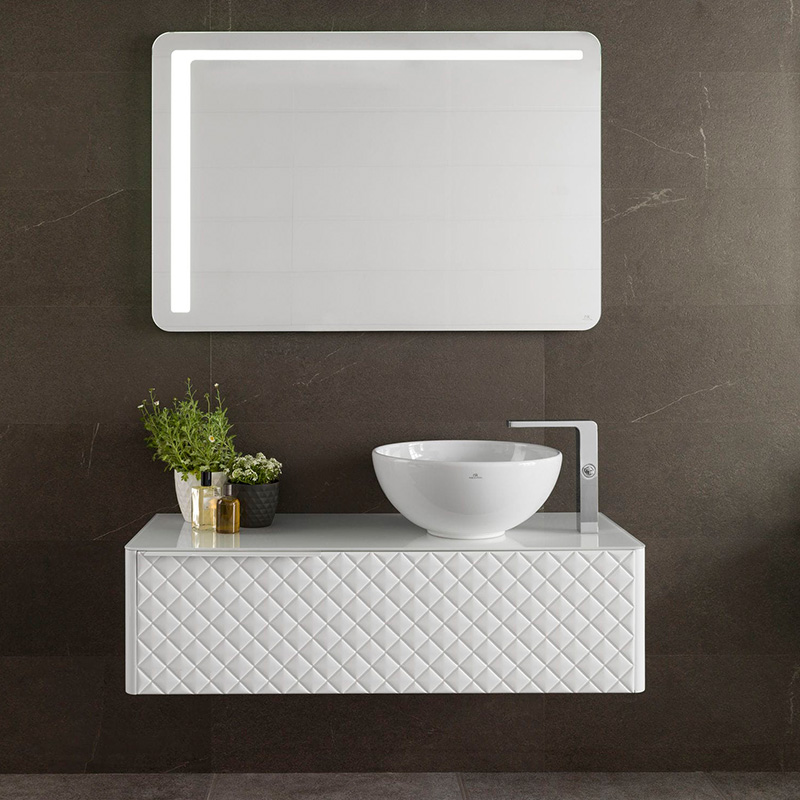 Custom MDF bathroom vanity