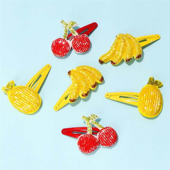 Fruits Hair Clips