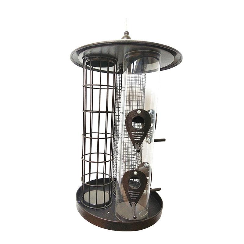 3 in 1 metal bird feeder