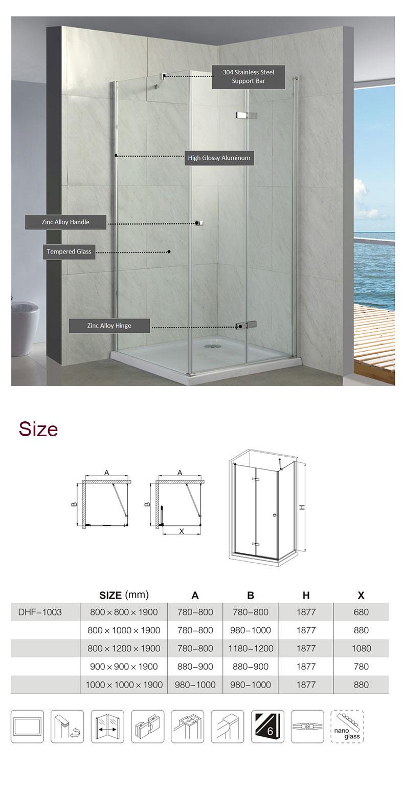 delta shower enclosure installation manufacturers