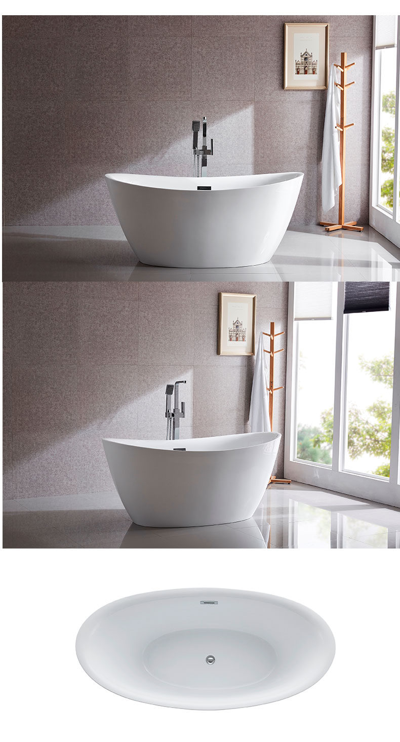 55 inch freestanding bathtub manufacturers