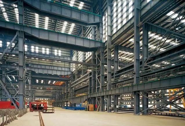 Building steel prefabrication warehouse design