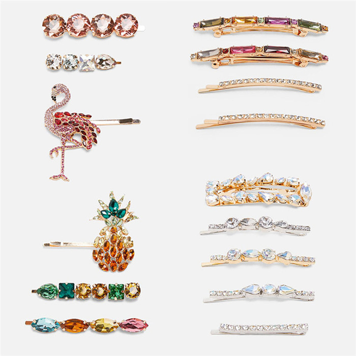 Crystals Hair Jewelry