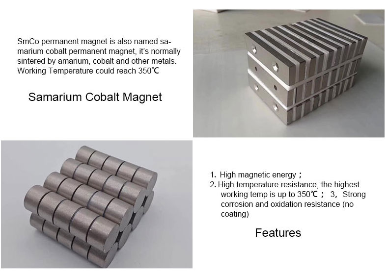 High magnetic energy SmCo Magnet