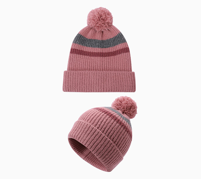 How to match pink hat with clothing