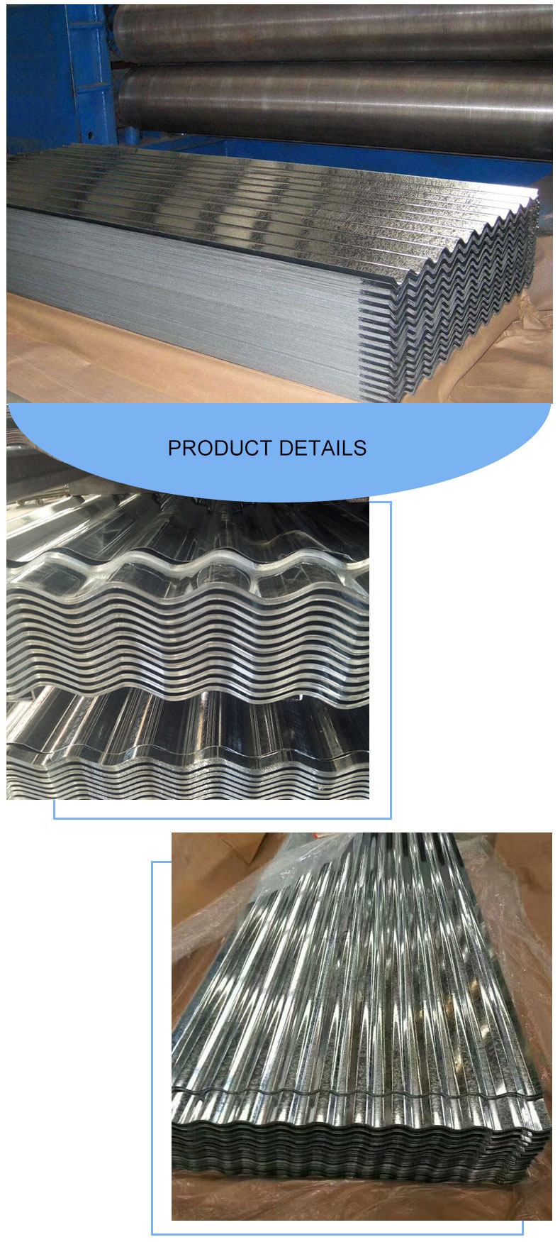 Galvanized Steel Roofing Sheet
